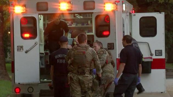 Tiroteo en Texas deja varios heridos. Foto: abc13.com