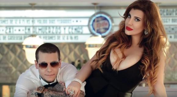 Charlotte y Alexander Caniggia (Foto: captura)