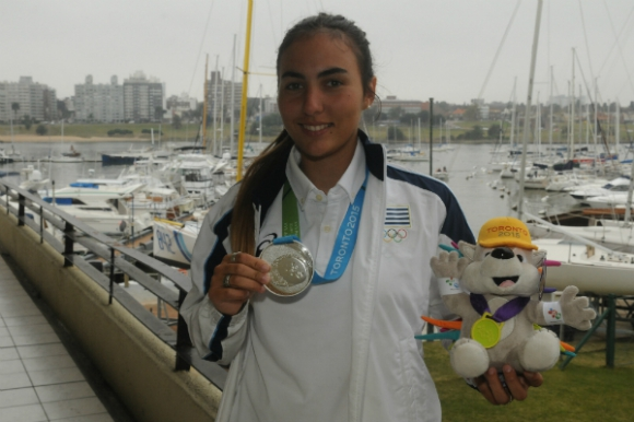 Dolores Moreira competirá en vela (categoría láser) (Foto: Francisco Flores)