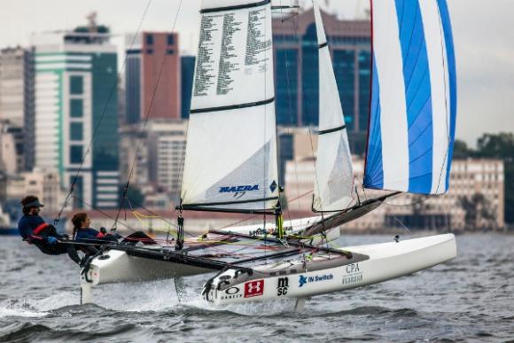 Mariana Foglia y Pablo Defazio competirán en Nacra17.