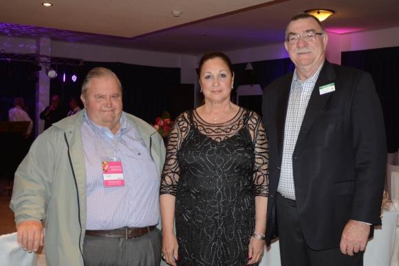 Jean Pierre Hounie, Rosario Enriques de Fazzio, Kelvin Trimper. Foto-Ricardo Figueredo.