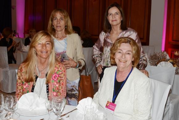 María Inés Montes, María Inés Peñaa Fort, Cristina Mac Cleod, Valeria Chediack. Foto-Ricardo Figueredo.