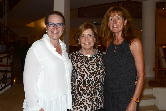 Beatrice Halter, Marta Blanco de Azzini, Mireille Steil. Foto-Ricardo Figueredo.