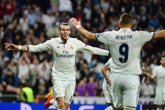 Bale abrió el marcador para el Real Madrid. Foto: AFP.