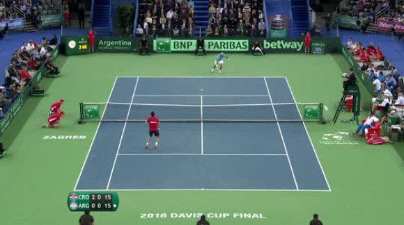 Shot of the day - Juan Martin del Potro (ARG)