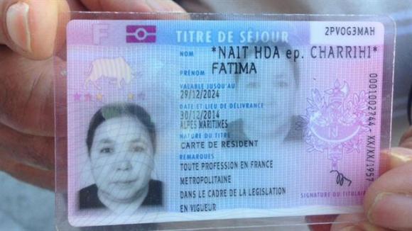 Fatima Charrihi murió en el atentado. Foto: Twitter / La Nación GDA