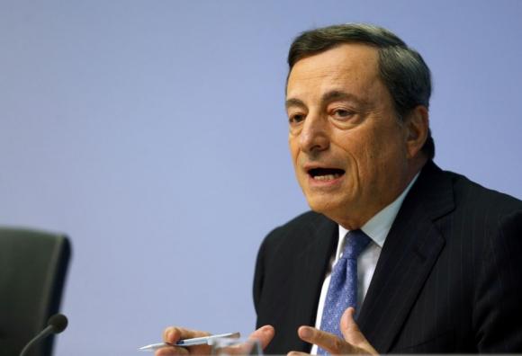 Mario Draghi, presidente del Banco Central Europeo. Foto: Reuters