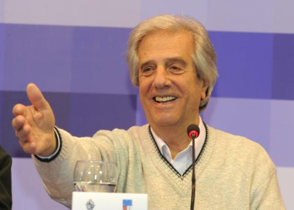 Tabaré Vázquez. Foto: Presidencia de la República.