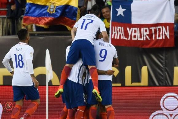 Con dos goles de Vidal, Chile se llevó la victoria. Foto: EFE