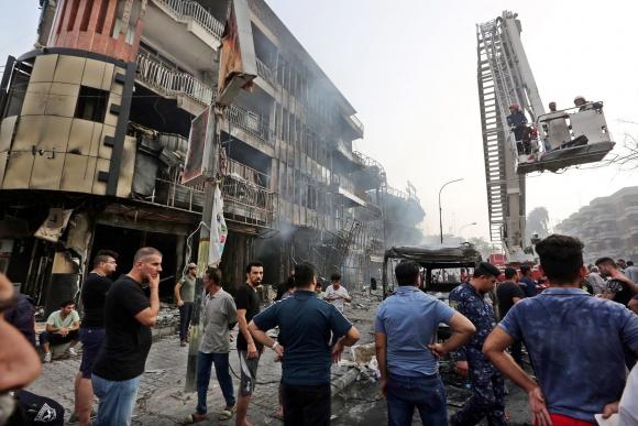 Ataque del EI en Bagdad deja al menos 80 muertos. Foto: EFE