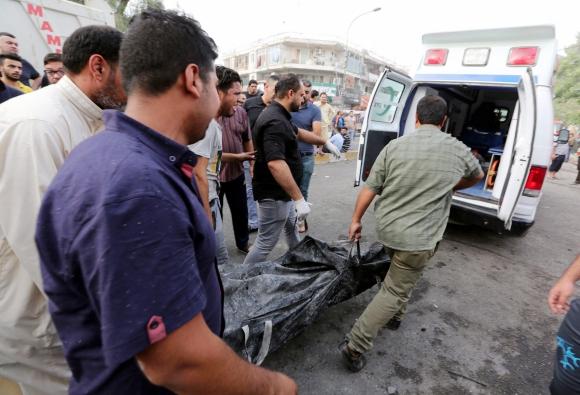 Atentado en Bagdad. Foto: EFE