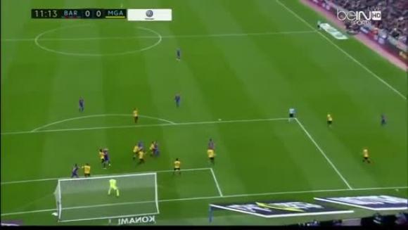 Barcelona 0-0 Málaga. 19/11/16