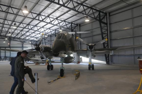 Museo Aeronáutico. Foto: Francisco Flores.