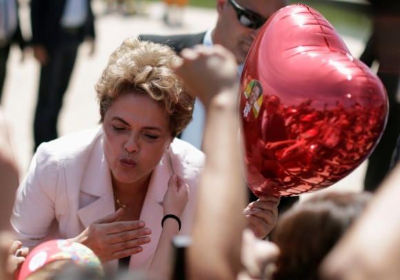 Dilma Rousseff. Foto: Reuters