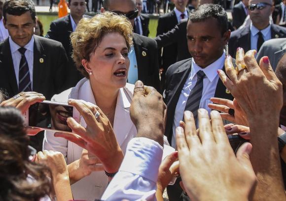 Dilma Rousseff. Foto: EFE