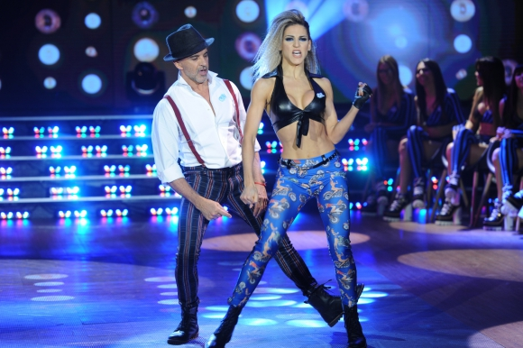 Osvaldo Laport y Macarena Rinaldi. Foto: Ideas del Sur