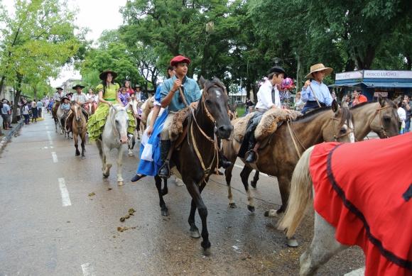 Desfile de la Patria Gaucha. Foto: Ricardo Figueredo