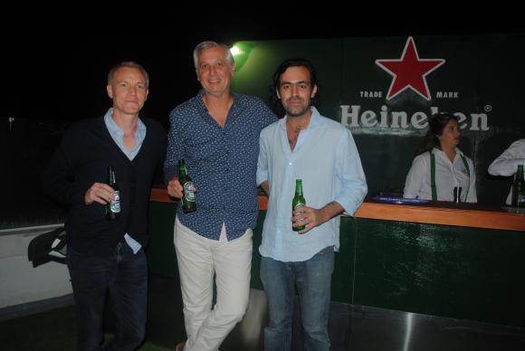 Loic Delaubrire, Fernando Sanchis, Ricardo Barbe.
