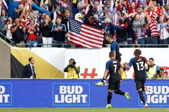 Estados Unidos busca quedarse con la Copa América. Foto: EFE