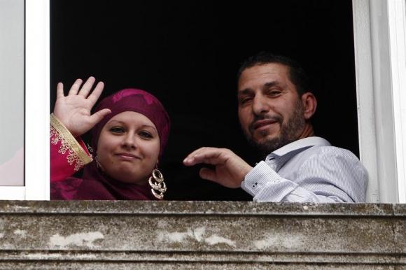 Se casa el primer refugiado de Guantánamo. Foto: EFE