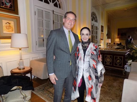 Embajador de Brasil Hadil da Rocha Vianna, Marcia Haydee.