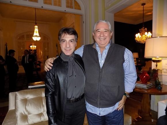 Sergio Puglia, Pablo Aharonian.