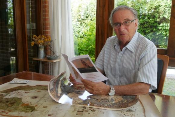 Juan Antonio Varese prepara un libro sobre Solís (Foto: Ricardo Figueredo)