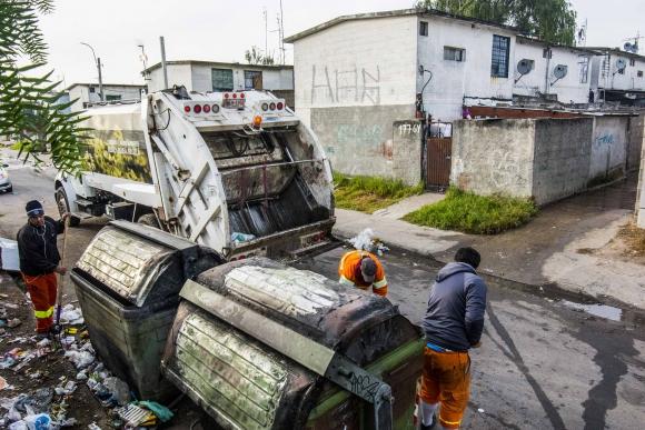 Jornada especial de limpieza. Foto: IMM