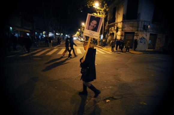 21° edición de la Marcha del Silencio. Foto: Fernando Ponzetto