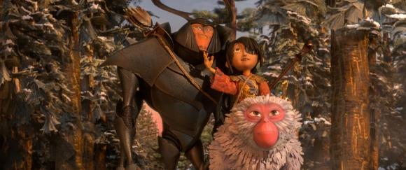 Un niño, un samurái y un chimpancé emprenden un viaje muy particular.