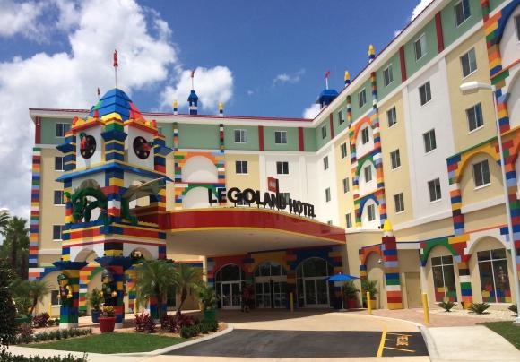 Legoland. El hotel, ubicado en Florida, tiene 152 habitaciones. (Foto: Google Images)