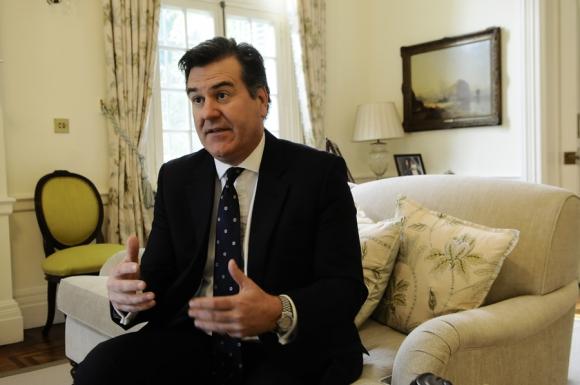 Es embajador desde 2012 y diplomático del Reino Unido desde 1989. Foto: D. Borrelli