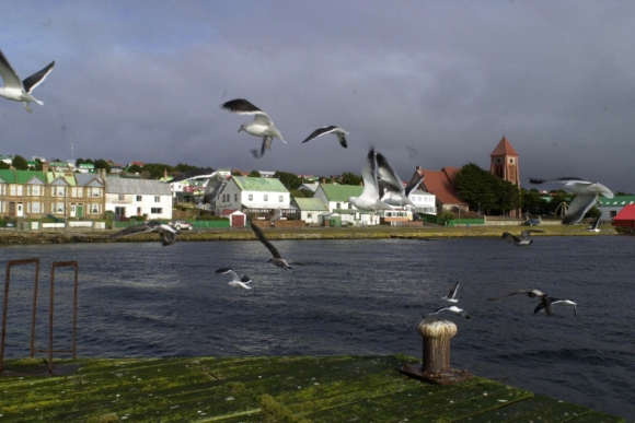 Islas Malvinas. Reclamadas por Argentina, fueron motivo de una guerra en 1982 con Gran Bretaña. Foto: La Nación / GDA.