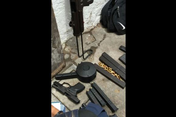 Incautaron arsenal, municiones y drogas en La Unión. Foto: Ministerio del Interior