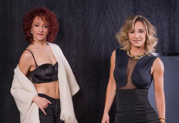 <b>Amigas en escena.</b> Ghidone pasó un fin de semana en Montevideo para participar de Improglam (Teatro del Notariado), espectáculo del que es madrina. El show lo protagoniza la vedette Natalia 'Tati' Román, una de sus mejores amigas.
