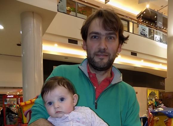 Isabella y Esteban Dotti.