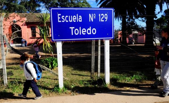 La escuela donde se educó José María Giménez. Foto: archivo El País