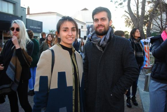 Alejandra Bouvier, Ignacio Bonifacino.