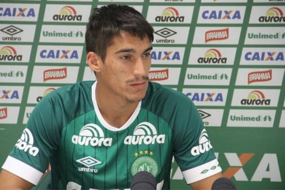 Guilherme Gimenez, lateral, 21 años. Foto: prensa Chapecoense.
