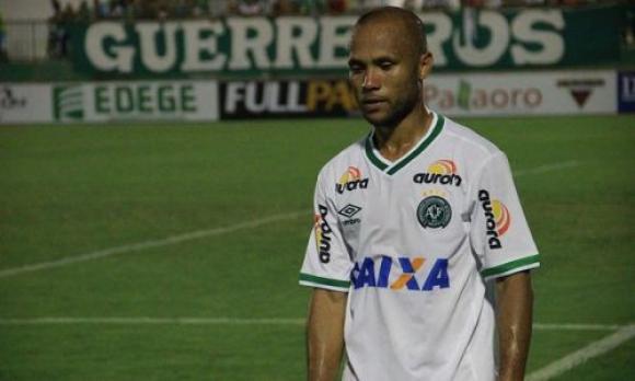 Ananias, delantero, 27 años. Foto: Prensa Chapecoense.