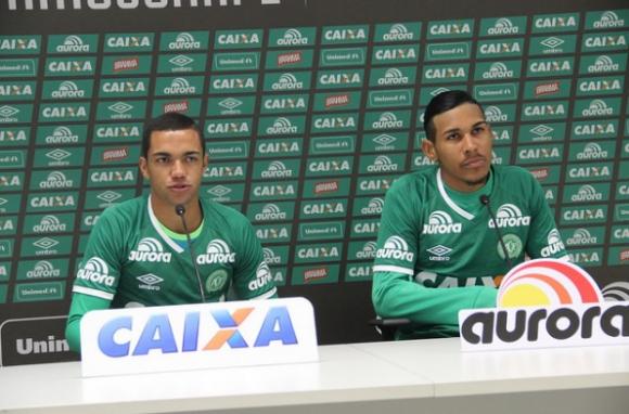 Aílton Canela, delantero, 22 años. Foto: Prensa Chapecoense.