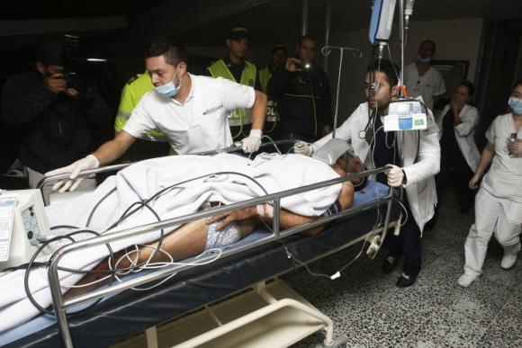 Alan Ruschel, lateral, 27 años. Rescatado con vida y trasladado de urgencia a Medellín. Foto: Efe.