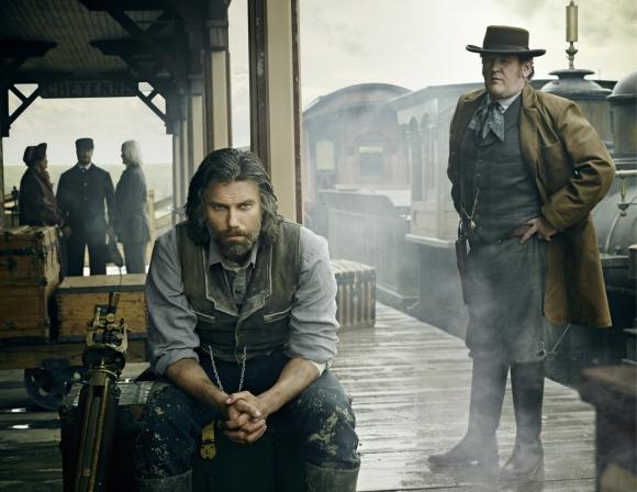 <i>Hell on Wheels</i> nos traslada al Lejano Oeste con una historia vinculada al tren.
