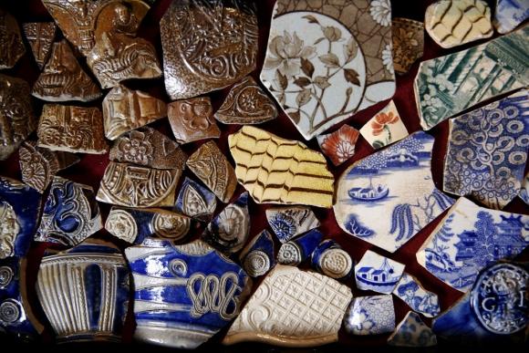 Busca tesoros en el Támesis. Foto: REUTERS