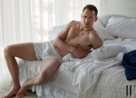 Tom Hiddleston para la revista W