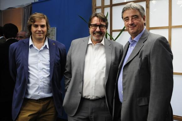 Nicolás Shceck, Emír Cámara, Nelson Vicente.