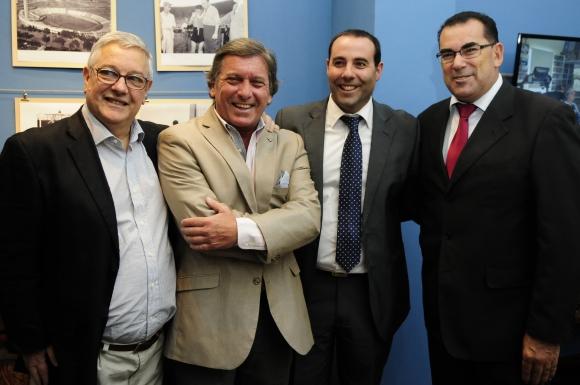 Víctor Fernández, Sergio Boffano, Marcelo Monzeglio, Héctor Robledo.