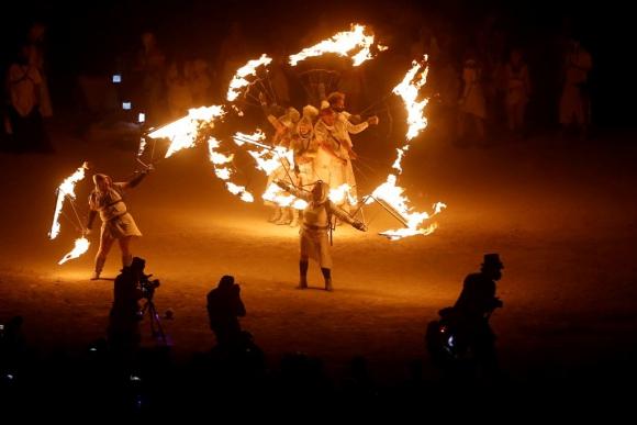 Burning man 2016. Foto: AFP