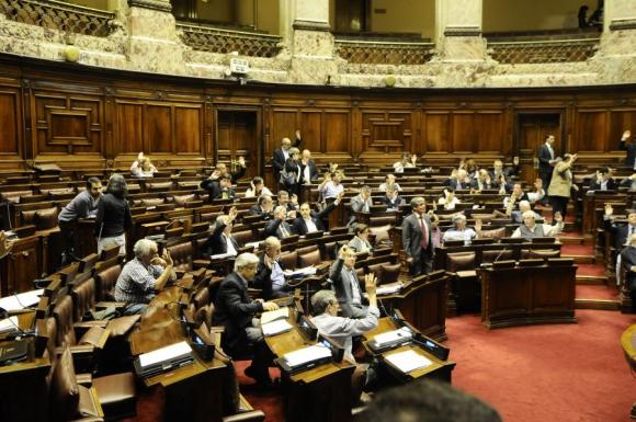 Parlamento: oposición en contra de un tercio de leyes votadas. Foto: F. Flores