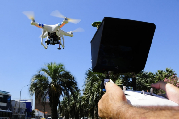 Los drones son una de las estrellas de la última ola tecnológica. Foto. M. Bonjour